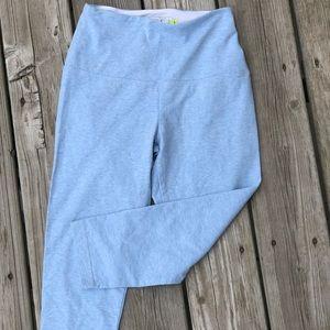 Lysse Leggings Womens Crop Blue High Waisted Yoga